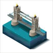 Bridge over the riverdesign unit structure 3d conceptTower Bridge Rd London