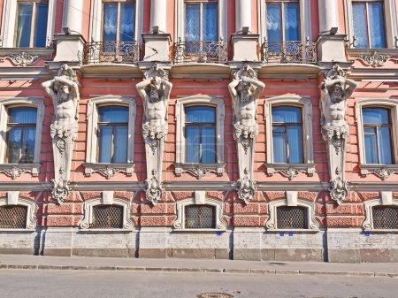 Belosselsky Belozersky Palace in St. Petersburg