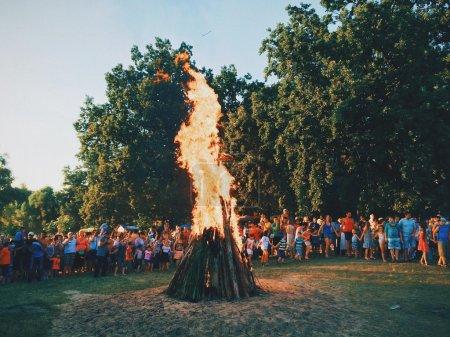 Celebration of Ivan Kupala Holiday