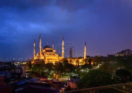 The Sultan Mehmet Mosque Istanbul,Turkey