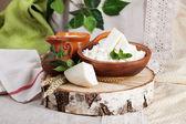 Rustikální mléčných výrobků zátiší