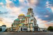 St. Alexander Nevski Cathedral v Sofii, Bulharsko