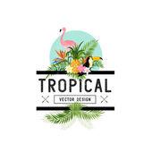 Tropical Design Elements