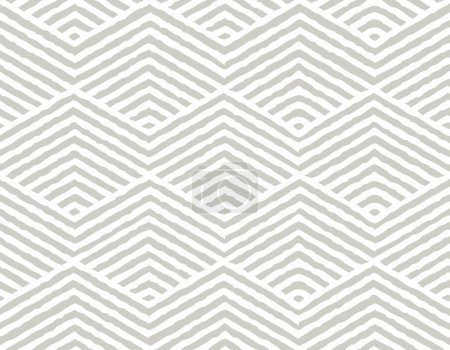 Illustration for Seamless Vector Geometric Pattern. Repeating geometric texture pattern. Vector illustration. - Royalty Free Image