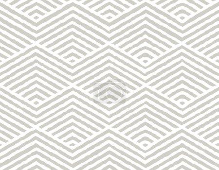 Ilustración de Vector patrón geométrico. Patrón repetitivo de la textura geométrica. Ilustración de vector. - Imagen libre de derechos