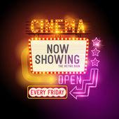 Cinema Retro Signs