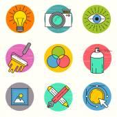 Creative Vector Icon Set