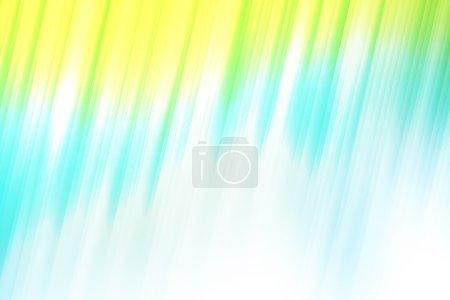 Foto de Los rayos de luz azul y blanca de verde, colores que se utilizan para crear Fondo abstracto - Imagen libre de derechos