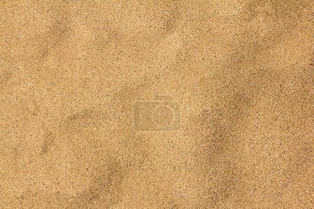 Photo pour Plage texturée jaune désert fond de sable vide - image libre de droit