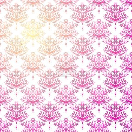 Illustration for Vintage decor pattern vector - Royalty Free Image