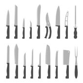 Types of kitchen knives set