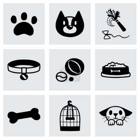 Vector Pet icon set