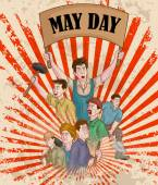 Happy May Day celebration