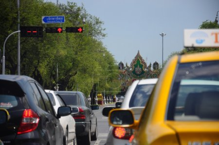 Bangkok traffic Traffic an estimated 150,000 new cars join the h