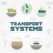 Transport systems phrase transportation and tools