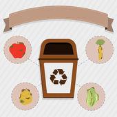 Organic food selective collection
