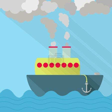 Ship fuming
