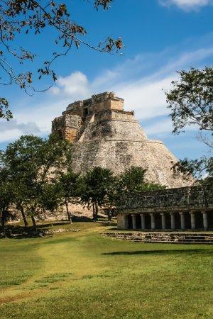 Mexico, Palenque, Mayan Pyramid,