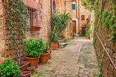 Old town Tuscany Italy
