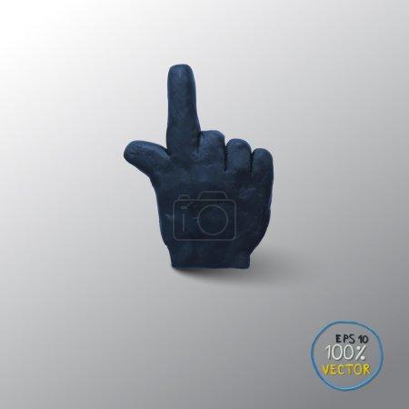Hand icon cursor