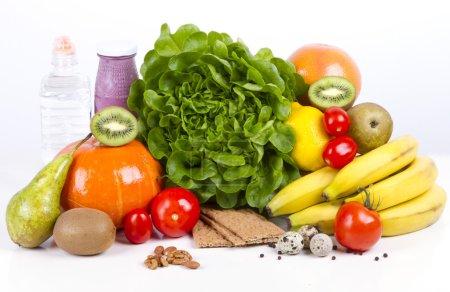 Diet weight loss breakfast concept -