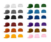 Flat bill cap collection