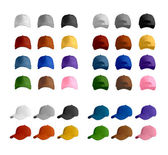 Baseball cap template collection