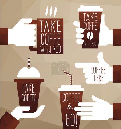graphics take coffee to go.