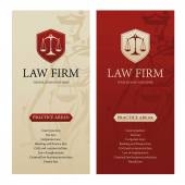 Law office firm or company vertical banners