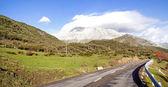 Old road at Picos de Europa, Spain.