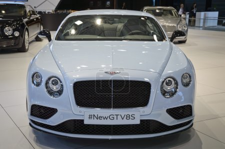 New Bentley Continental GT V8S