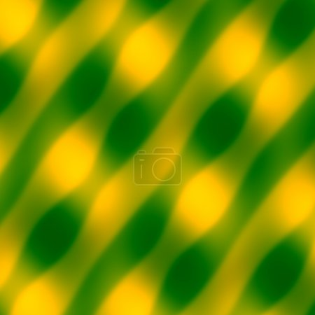 Abstract Wave Pattern. Yellow Green Background. Blurred Decorative Illustration. Art Texture. Soft Colored Artwork. Simple Smooth Image. Minimal Digital Fantasy Pic. Artistic Striped and Backdrop.