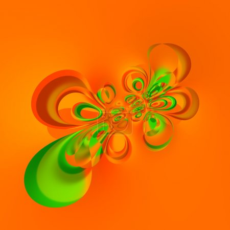 Digitally generated image. Liquid splash deco. Many circle shapes. Weird creative idea. Special warp effect. Stylish trendy splat. Hi resolution render. Uncommon stained pic. Unusual odd structure.