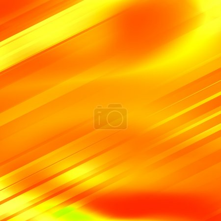Abstract yellow technology background. Fresh orange glow. Modern digital art. Made in full frame. Surreal fantasy ray. Blank space for text. Sparse stylish decor. Yellow lines back for album or cover.