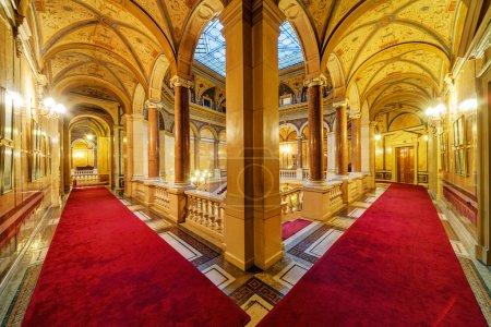 Interior of classic building
