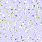 Seamless pattern with bouquets of flowers cartoon
