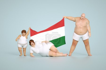 Hungarian obesity concept