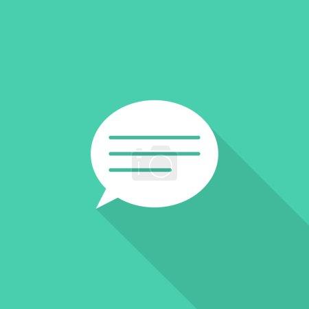 Illustration pour Icône Talk - image libre de droit