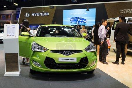 Hyundai Velaster on displayed