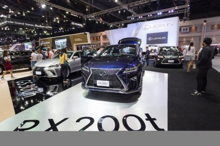 Lexus RX 200t on displayed