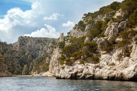 Cliffs in Massif des Calanques