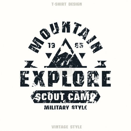 Scout camp badge