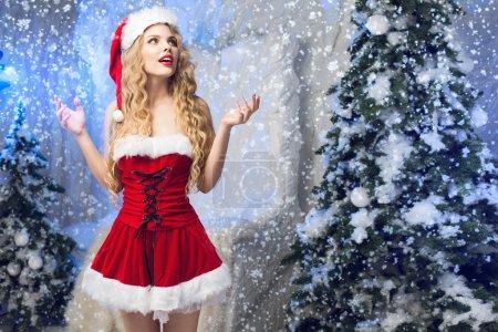 Beauty Snow Maiden