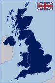 Blank Map of United Kingdom