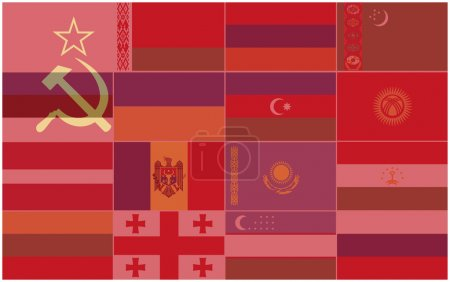Flags of the Republics of the Former USSR