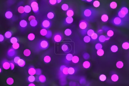 Photo for Abstract bokeh christmas lights background - Royalty Free Image