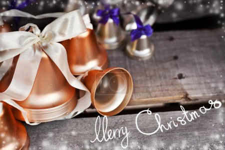 Merry Christmas holiday bells