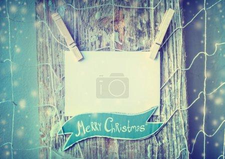 Paper handmade christmas decoration
