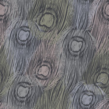 Illustration for For textile, wallpaper, wrapping, web backgrounds and other pattern fill - Royalty Free Image