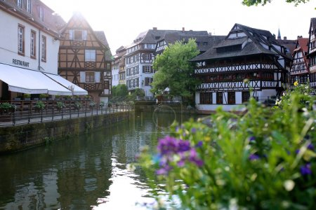 Strasbourg on summer sunny day